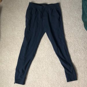 Abercrombie and Fitch Navy Men's Joggers